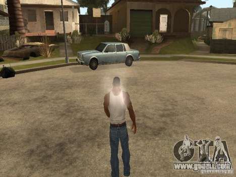 You can sit down, smoke, drink whiskey, vomiting for GTA San Andreas sixth screenshot