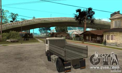 5551 MAZ Truck for GTA San Andreas back left view