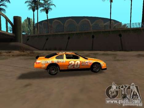 Toyota Camry Nascar Edition for GTA San Andreas back view
