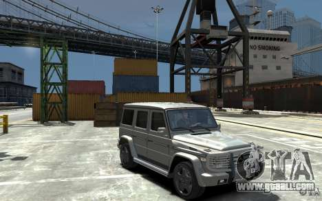 Mercedes-Benz G 55 AMG 2009 for GTA 4 back view