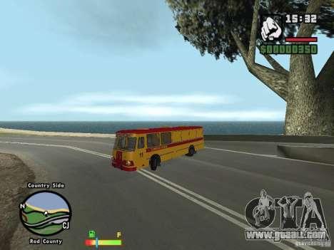 LIAZ 677 HBI technical assistance for GTA San Andreas left view