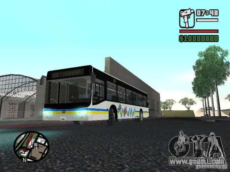Onibus for GTA San Andreas left view