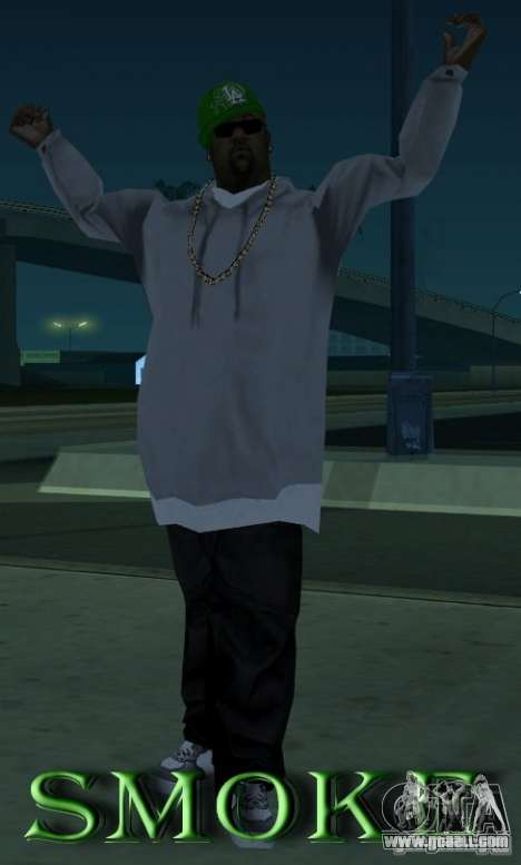 Mod pack by Grove v.1 for GTA San Andreas fifth screenshot