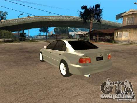 BMW 540i for GTA San Andreas left view