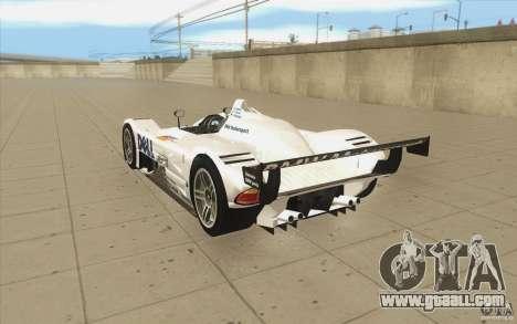 BMW V12 LeMans - Stock for GTA San Andreas back left view