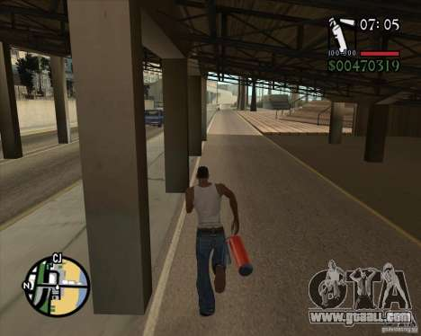 New Fonts for GTA San Andreas second screenshot