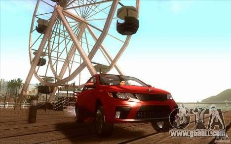 Kia Rio for GTA San Andreas left view