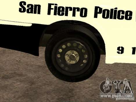 Chevrolet Impala Police 2003 for GTA San Andreas side view