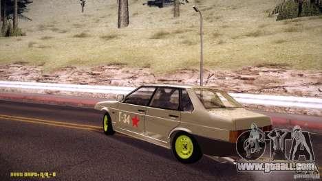 Vaz 21099 Hobo for GTA San Andreas left view