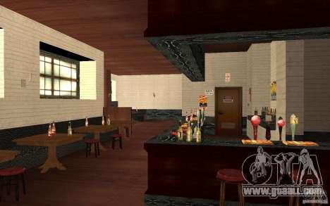 A new bar in Gantone v. 2 for GTA San Andreas sixth screenshot