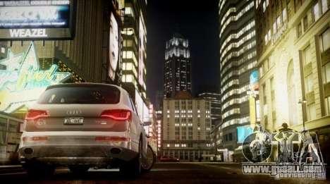 Audi Q7 V12 TDI Quattro Final for GTA 4 right view