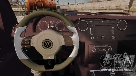 Volkswagen Amarok 2.0 TDi AWD Trendline 2012 for GTA 4 inner view