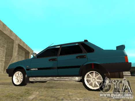 VAZ 21099 sparco tune for GTA San Andreas left view