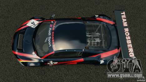 Audi R8 LMS for GTA 4 right view