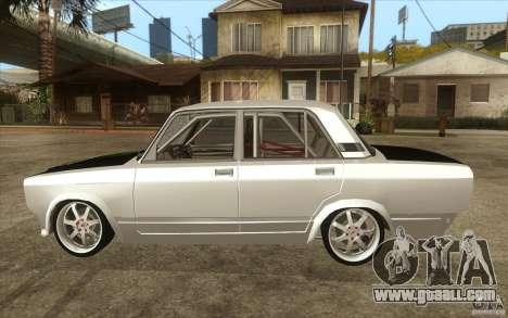 Vaz Lada 2107 Drift for GTA San Andreas left view