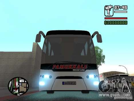 Neoplan Tourliner for GTA San Andreas back view