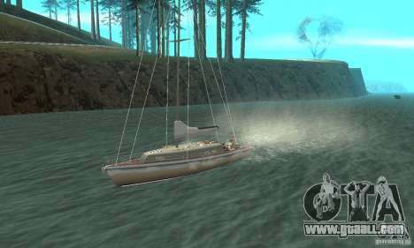 Marquis Segelyacht 09 Textures for GTA San Andreas inner view