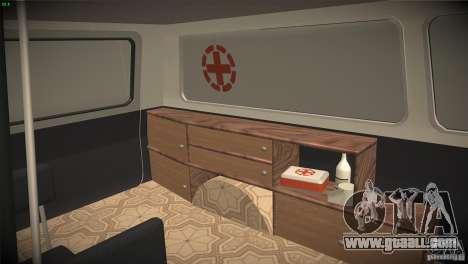 RAF 22031 ambulance for GTA San Andreas side view