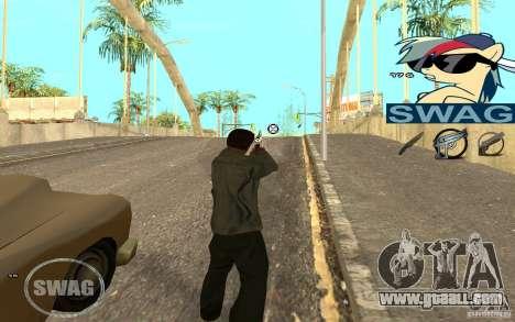 C-HUD Pony SWAG for GTA San Andreas second screenshot