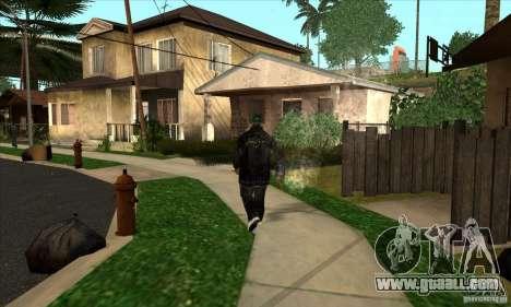 grove skin 1 ranks for GTA San Andreas second screenshot