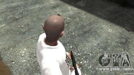 AKS-74U for GTA 4 third screenshot