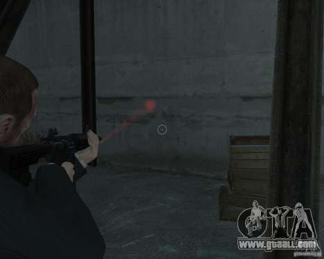 Flashlight for Weapons v 2.0 for GTA 4 second screenshot