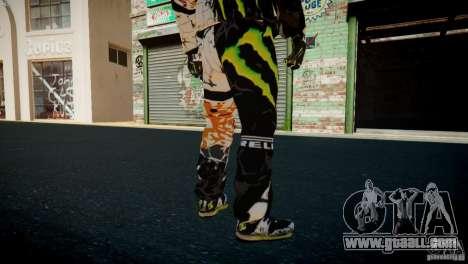 Ken Block Gymkhana 5 Clothes (Unofficial DC) for GTA 4 eighth screenshot