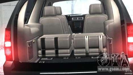 Chevrolet Tahoe 2007 for GTA 4 inner view