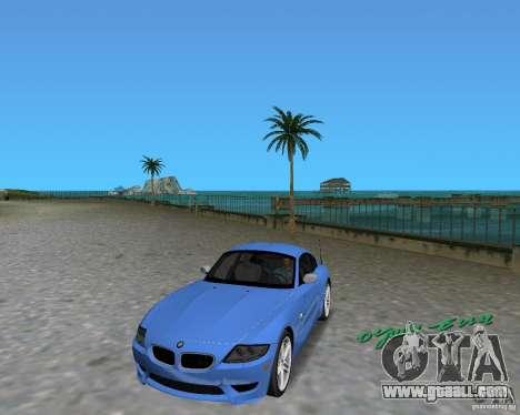 BMW Z4 for GTA Vice City