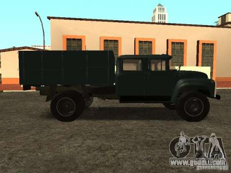 ZIL 130 double cabin for GTA San Andreas left view