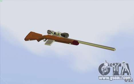 Low Chrome Weapon Pack for GTA San Andreas ninth screenshot