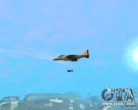 Cluster Bomber for GTA San Andreas second screenshot