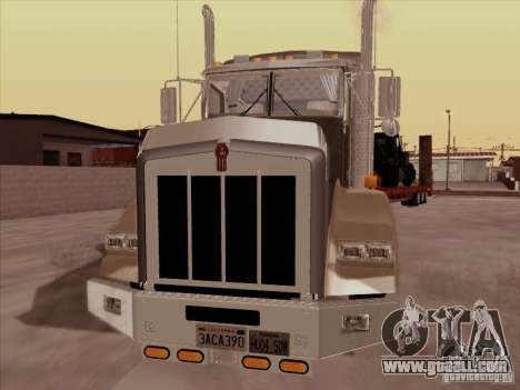 Kenworth T800 for GTA San Andreas left view
