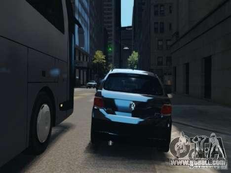 Volkswagen Gol G6 for GTA 4 back view