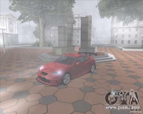 Hyundai Genesis Coupe for GTA San Andreas right view