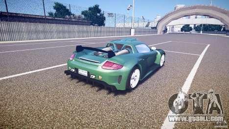 Porsche Carrera GT for GTA 4 side view