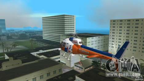 Eurocopter As-350 TV Neptun for GTA Vice City right view