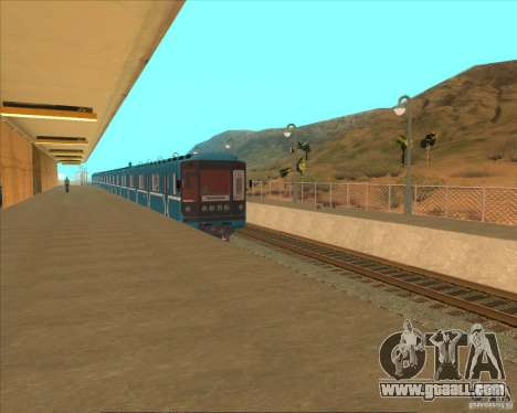 The high platforms at railway stations for GTA San Andreas eighth screenshot