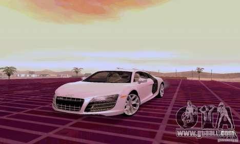 Audi R8 V10 5.2. FSI for GTA San Andreas