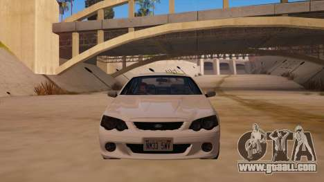 Ford Falcon XR8 2008 Tunable V1.0 for GTA San Andreas back view