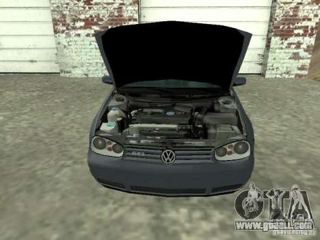 Volkswagen Golf IV for GTA San Andreas right view