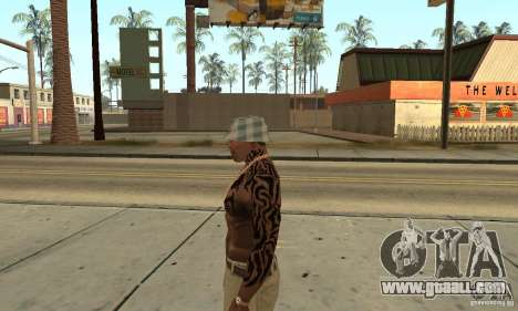 Tatu CJ for GTA San Andreas second screenshot