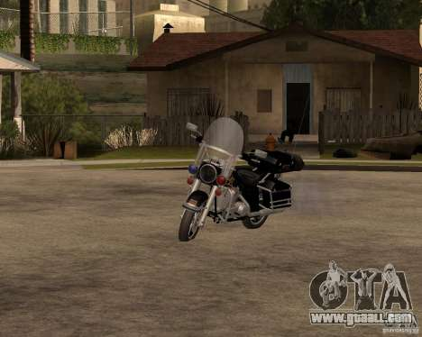 Harley Davidson Police 1997 for GTA San Andreas
