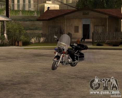 Harley Davidson Police 1997 for GTA San Andreas