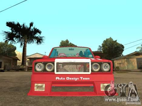VAZ 2107 Sparky for GTA San Andreas right view