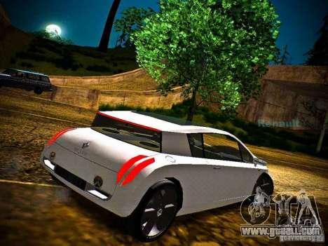 Renault Vel Satis for GTA San Andreas left view