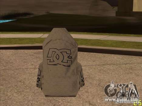 Parachute DC for GTA San Andreas