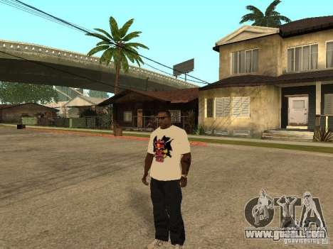 T Shirt Red Bull for GTA San Andreas second screenshot