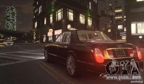 Bentley Arnage T v 2.0 for GTA 4 back left view