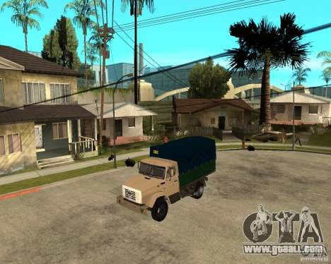 ZIL-433362 Extra Pack 1 for GTA San Andreas right view